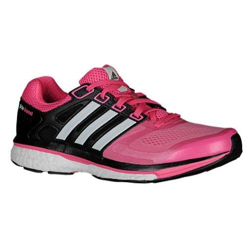 Adidas Supernova Glide 6 Boost Running Sneaker Shoe - Pink/Black - Womens - 9.5