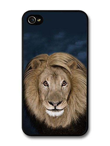 Funny & Cute Lion With a Fringe coque pour iPhone 4 4S