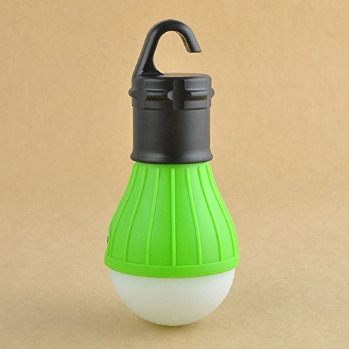 1 Set Notable Fashionable 3-Mode Q5 3-LED Lantern Night Light Outdoor Camping Fishing Activities Emergency Portable Bivouac Pocket Tent Hanging Color (Watt Bell Led)
