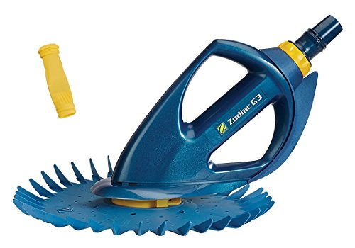 Lowest Prices! Zodiac BARACUDA G3 W03000 Advanced Suction Side Automatic Pool Cleaner with Additiona...