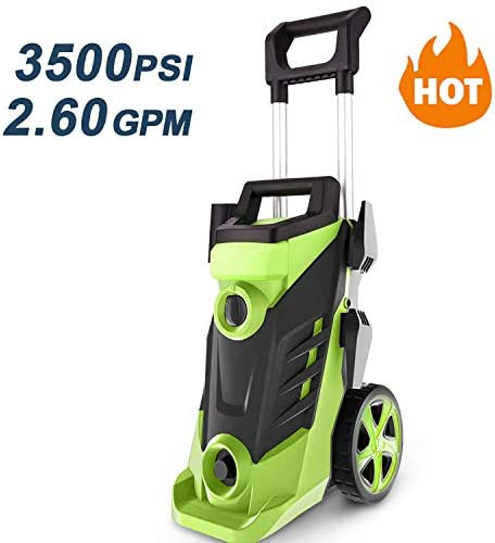 Homdox 3500 PSI Pressure Washer, Power Washer, 2.6GPM High Pressure Washer, Professional Washer Cleaner Machine with 4 Interchangeable Nozzles,with Telescopic