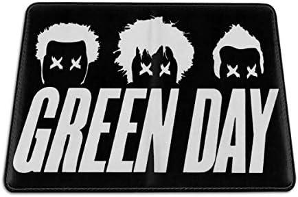 グリーン・デイ Green Day パスポートケース メンズ 男女兼用 パスポートカバー パスポート用カバー パスポートバッグ 小型 携帯便利 シンプル ポーチ 5.5インチ高級PUレザー 家族 国内海外旅行用品