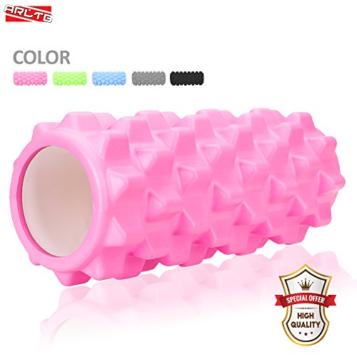 Arltb Foam Roller Muscle Roller Deep Tissue Massage and Trigger Point Muscle Therapy Rollers for Physical Therapy and Exercise Ideal for Myofascial Release and Full Body Stiffness Relief