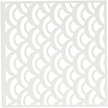"""Crafter's Workshop Templates 6""""X6""""-Fish Scales"""