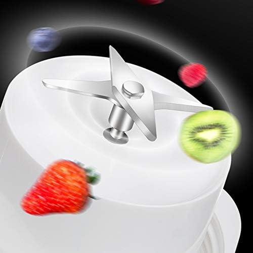QWEZXC Spremiagrumi Piccolo, Estrattore di Succo per Spremitura A Freddo Carica Magnetica Gusto Delicato Spremiagrumi Centrifugo Semplice Pulizia 350 Ml (Colore Multiplo),Blu