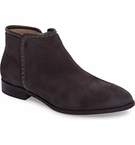 boots Autumn grey boots with low and fashion head winter Dark v6nO6