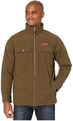 [Columbia(コロンビア)] メンズウェア・ジャケット等 Wheeler Lodge Casual Jacket Olive Green S [並行輸入品]