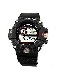 Casio Mens G SHOCK RANGEMAN TRIPLE SENSOR Digital Sport Solar Watch NWT GW-9400-1D