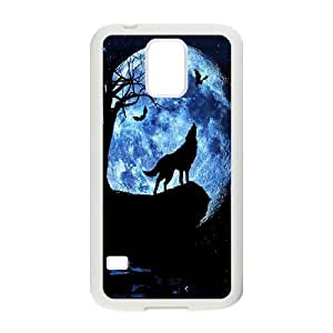 Wolf Original New Print DIY Phone Case for SamSung Galaxy S5 I9600,personalized case cover ygtg599686 by runtopwell