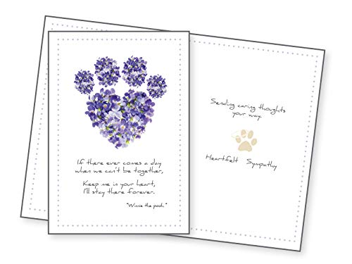 - Dog Speak Sympathy Card - If there ever comes a day...