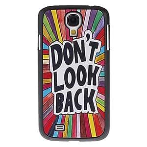 WQQ Samsung S4 I9500 compatible Special Design Plastic Back Cover