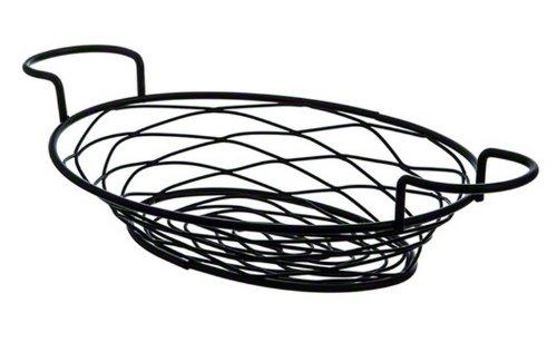American Metalcraft BNBB821 Oval Birdnest Wire Basket with Ramekin Holder, - Metalcraft American Ramekins