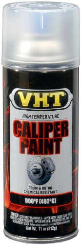 VHT (SP730-6 PK) Gloss Clear High Temperature Brake Caliper Paint - 11 oz. Aerosol, (Case of 6)