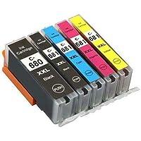 5 x PGI-680XL CLI-681XL XXL Compatible for Canon PIXMA TR7560 TR8560 TS6160 TS8160 TS9160