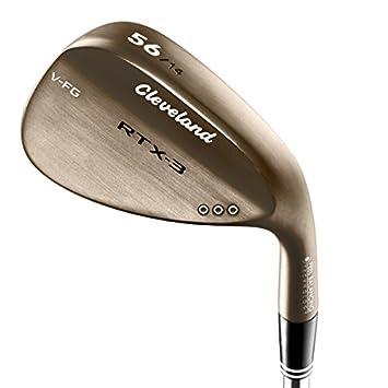 Cleveland Golf RTX-3 RAW Wedge de Golf, Hombre, Cobre, 50 ...