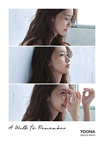 YOONA - A Walk to Remember (Special Album) CD+Booklet+Folded Poster+Double Side Extra Photocards -