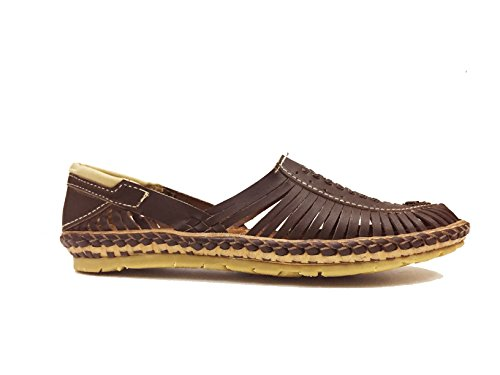 Desi Hangover Genuine Premium Leather Handmade Mens Casual Shoes Slip-on Loafers Aristocrat Brown Shoe, Free Express Shipping -  ARBRNM_10