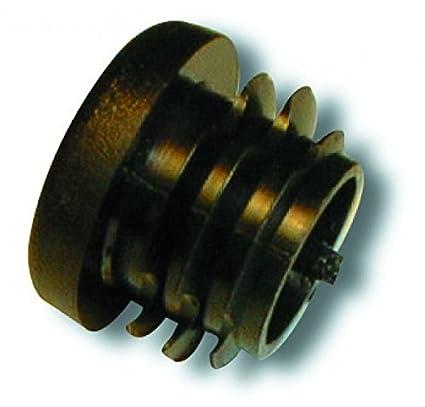 3pcs Isabella Black End Plug for CarbonX IXL,23mm