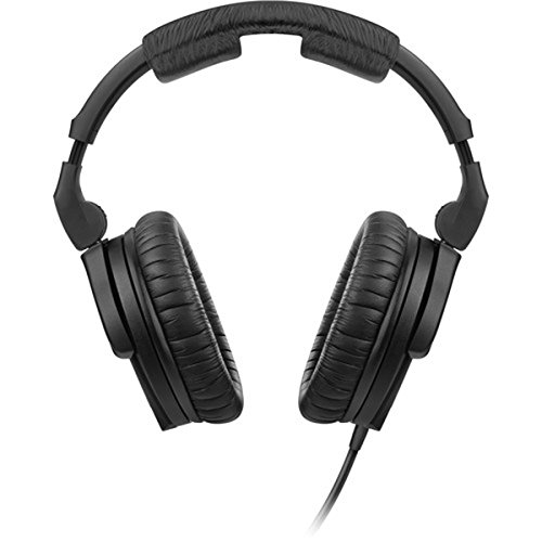 Sennheiser HD 280 Pro Plus Circumaural Closed-Back Monitor Headphones with FiiO A1 Portable Headphone Amp and extra pair soft leatherette replacement ear cushions by Sennheiser (Image #2)
