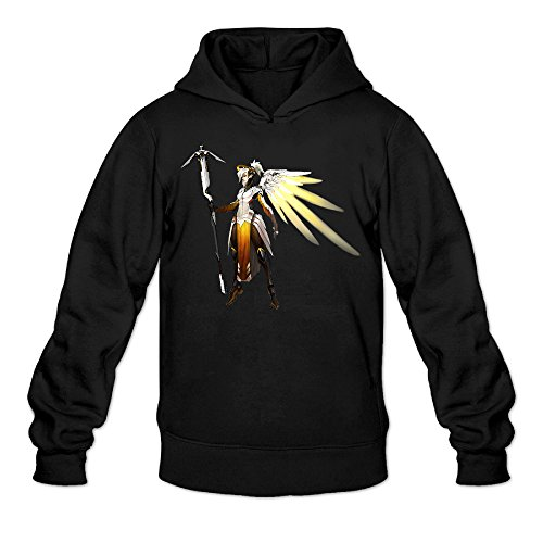 Overwatch Men's Mercy Hoodies Hoodie Size S
