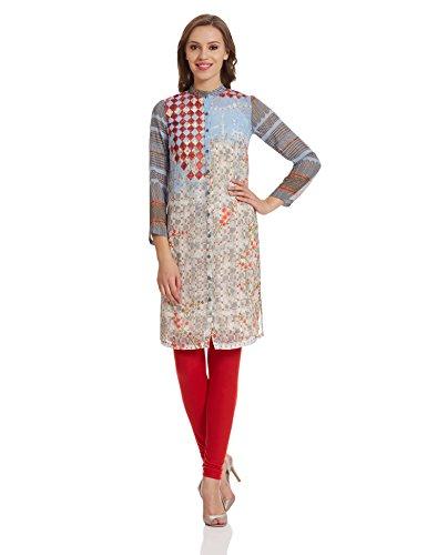 BIBA Womens Cotton Straight Tunic product image