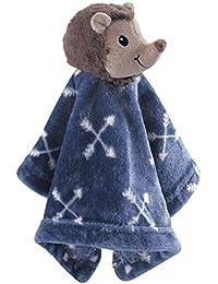 Animal Friend Plushy Security Blanket, Hedgehog, One Size