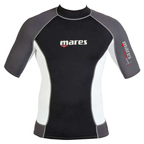 Mares Men's Thermo Guard 0.5mm Short Sleeve Water Sport Shirt, Large Short Sleeve Thermo Guard