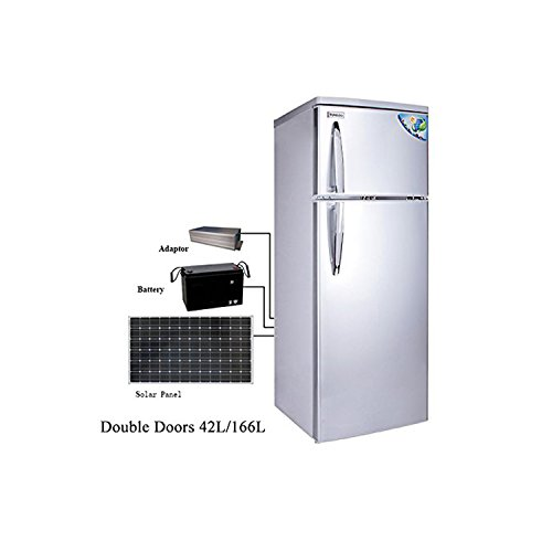 Price comparison product image Cowin 12V DC Solar Refrigerator Both Way to Charge 42L/166L CSR--238 (Bigger Capacity)