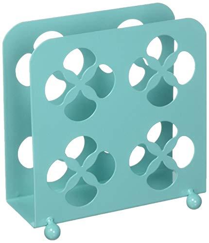 Home Basics Trinity Collection Pantryware Organization Set, Turquoise (Napkin Holder) ()