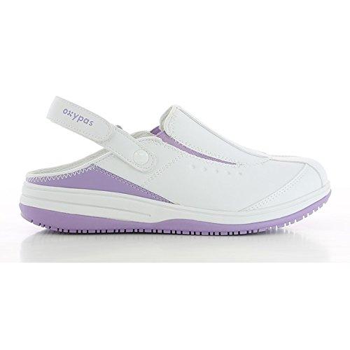 Iris De Royaume Oxypas Eu 37 Blanc Au fux Des Blanc 4 lgn Chaussures uni Femmes Sécurité rErxvRq1