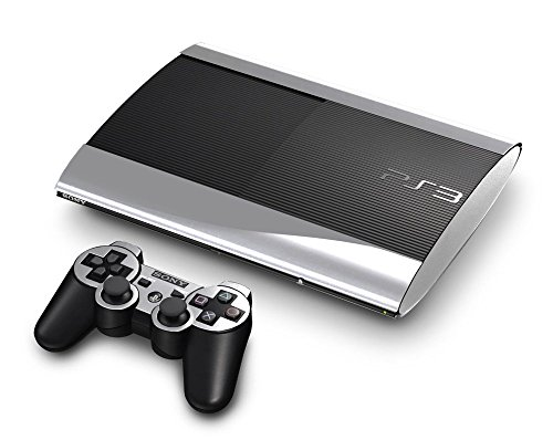 Sony PlayStation 3 Super Slim Skin (3rd Gen) - NEW - SILVER CHROME MIRROR system skins faceplate decal mod