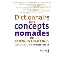 Dictionnaire des concepts nomades des sciences humaines