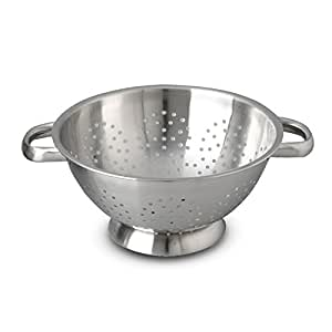 "Sur La Table Stainless Steel Colander 2228.24 , 9½"", 9.5"""