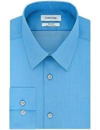 Men's Dress Shirts Non Iron Slim Fit Solid
