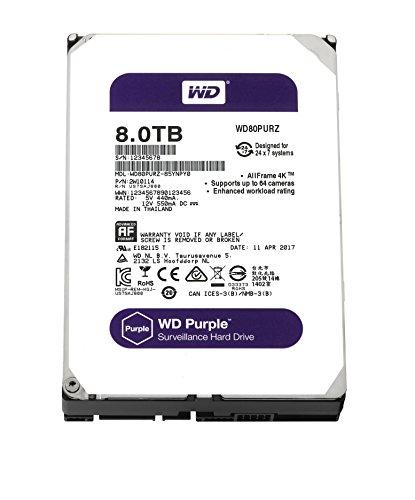 WD Purple 8TB Surveillance Hard Drive