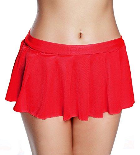 red mini skirt - 6
