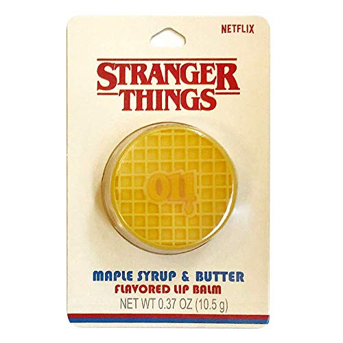 Taste Beauty Stranger Things Maple Syrup & Butter Flavored Waffle Lip Balm