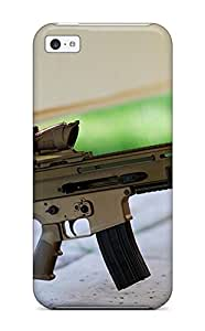 New Premium Case Cover For Iphone 5c/ Assault Rifle Protective Case Cover 2586445K46011239