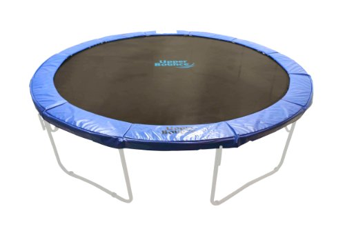 16-Super-Trampoline-Safety-Pad-Spring-Cover-Fits-for-16-FT-Round-Trampoline-Frames-10-wide-Blue
