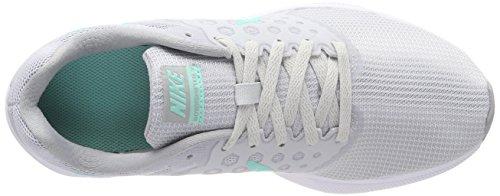 Nike Donne Downshifter 7 Nero Mtlc Dk Grigio Lupo Grigio