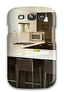 Premium [HmNzVKp52SkkMV]brown And White Modern Kitchen Case For Galaxy S3- Eco-friendly Packaging