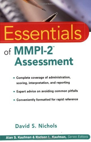 By David S. Nichols - Essentials of MMPI-2 Assessment: 1st (first) Edition