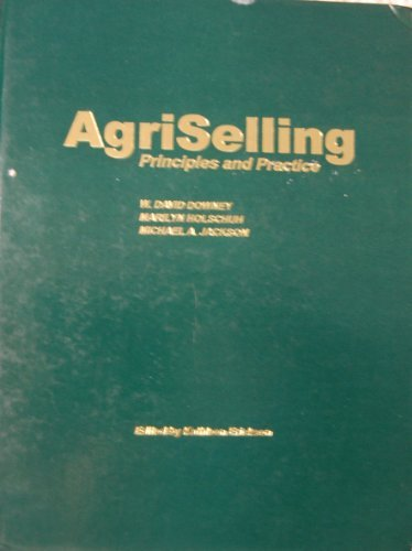 Agriselling Principles and Practices. Third Edition