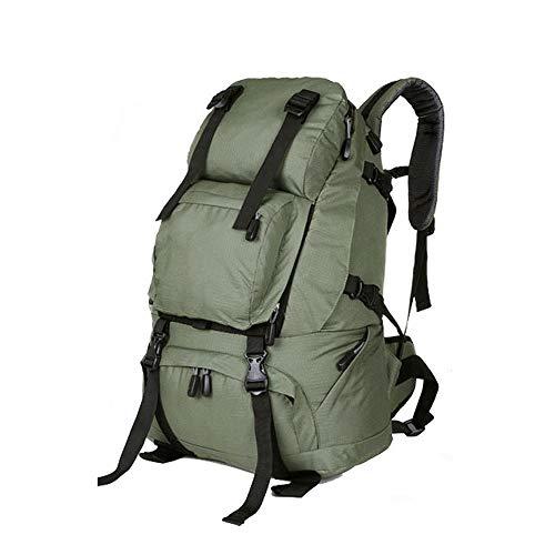 Rcircle Lightweight Outdoor Hiking Backpack, 40L Waterproof Men Women Daypack Rucksack Bag for Weekender Camping, Backpacking Traveling, Trekking, Climbing, Mountaineering- Large (Color : P)