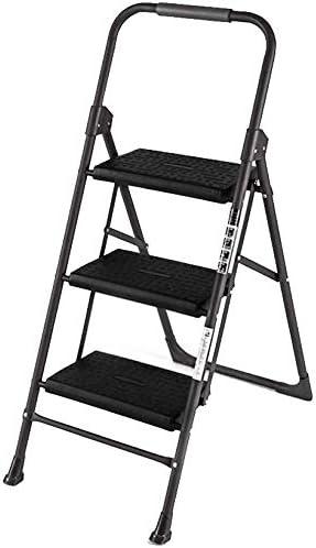 GYX Taburete, escalera de dos escalones Dos escalera de tres escalones Taburete plegable Escalera pequeña,Dos pasos: Amazon.es: Bricolaje y herramientas
