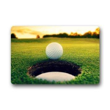 Custom Golf Indoor/Outdoor/Shower/Bathroom Welcome Door Mat Rug  Indoor/Outdoor