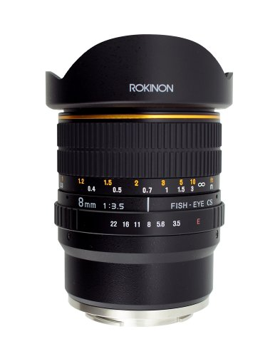Rokinon FE8M-NEX 8mm f/3.5 Fisheye Lens for Sony E-Mount Cameras (NEX and VG10)