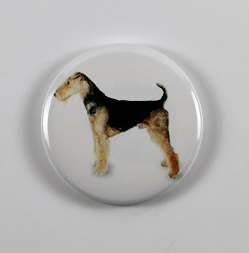 Airedale Terrier (7) Pin Back Button