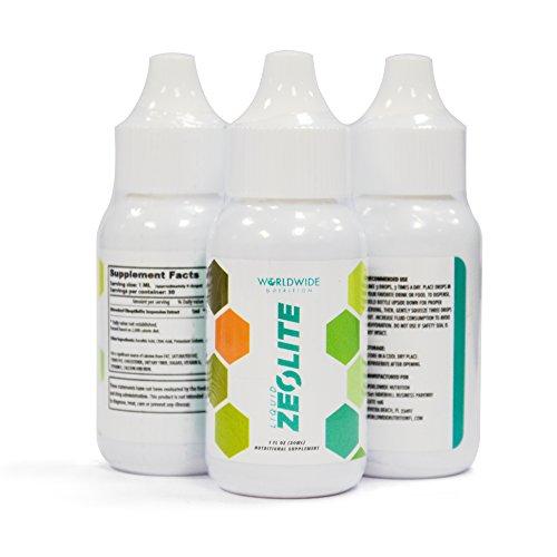 Worldwide Nutrition Liquid Zeolite Dietary Supplement 1 fl oz (Single bottle)