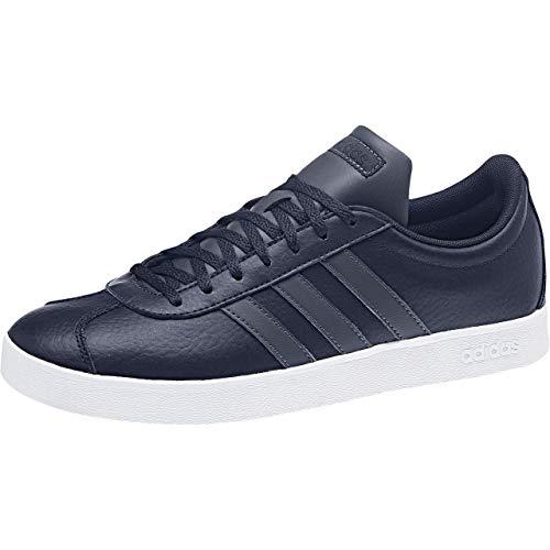 2 Hommes Ftwbla 000 Adidas Court tinley Skateboard Chaussures De Azutra Pour Vl 0 Multicolores fO8w7E